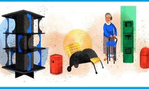 Anna Castelli Ferrieri: Google Doodle per il suo 94° anniversario