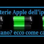 Apple vuole sostituire la batteria iPhone 5 gratis ai clienti