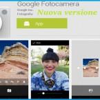 Google aggiorna la sua fotocamera Android