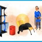 Google doodle di Anna Castelli Ferrieri in sua memoria
