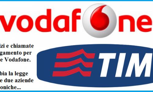 Servizi a pagamento per Tim e Vodafone