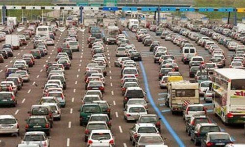 Traffico esodo vacanze:  bollino rosso autostrade per il 23 e 24 agosto