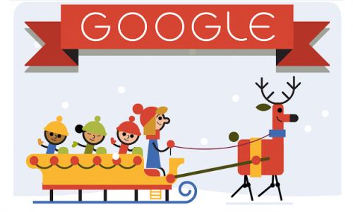 Buone Feste 2015 vacanze natalizie con Google Doodle