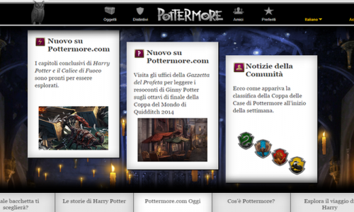 Pottermore – la magia di Harry Potter ritorna online per i Fan!