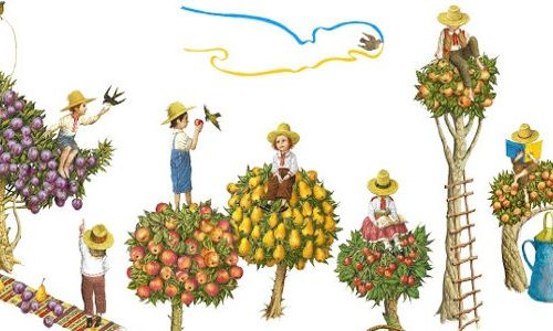 Google Doogle per la festa dell'indipendenza ucraina 2014