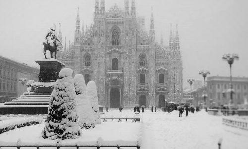 Meteo – neve a Milano (previsioni meteo della settimana)