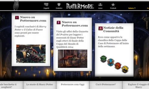 Pottermore – la magia di Harry Potter ritorna online per i Fan!