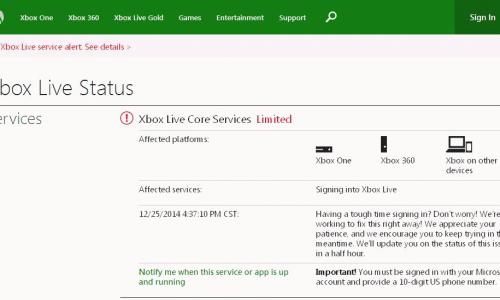 Violati sistemi Xboxlive e psn offline per le feste